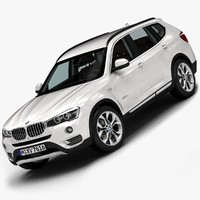 3ds max 2015 bmw x3