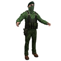 ira terrorist 3d max