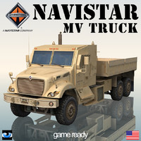 Navistar 7000 MV  Military Truck