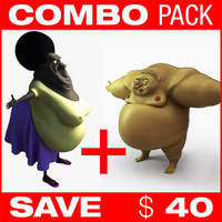 COMBO ( Fat woman + Sumo wrestler )