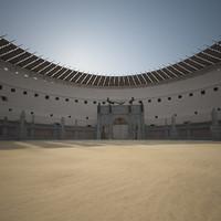 colosseum arena 3d max