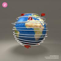 maya electrical plug globe
