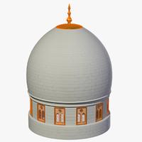 max white golden dome