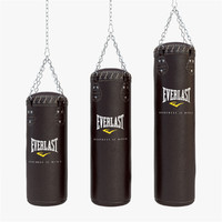 3d punching bag model