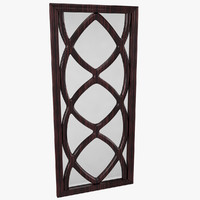 3d model contemporary mirror