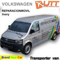 3ds max volkswagen transporter shuttle bci