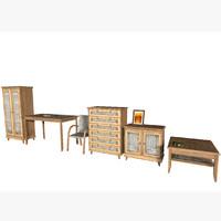 furniture package light 3d model