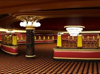 casino interior 3ds