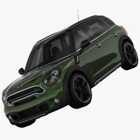 bmw mini cooper s 3d obj