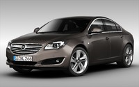 car opel 3d model