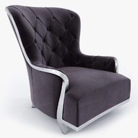 3d armchair unique classic trend