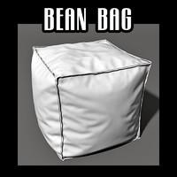 3d bean bag seat model