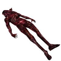 3d died human model