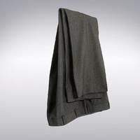 3dsmax men s pants gray