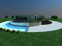 3d model house deluxe