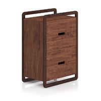 modern wooden cabinet 3d