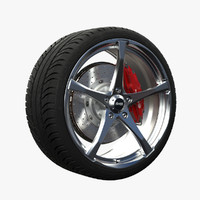 3d advanti denaro wheel