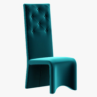 costantini chandelier chair furniture 3d model