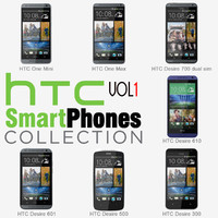 3d htc smartphones v1 phones model