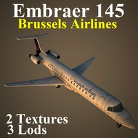 3d model embraer dat