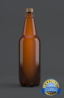 plastic beer bottle 3d max