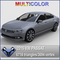 VW Passat B8 2015