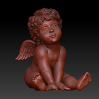 Angel Cherub sitting