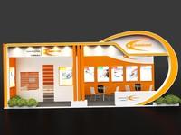 3d stall design model