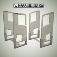 3d model of metal detector