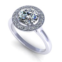diamond ring m