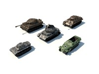 ww2 german pack 3d c4d