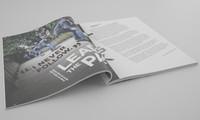 3d model opened magazine