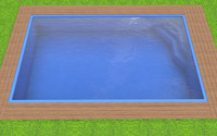 3ds swimming pool