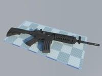 m4a1 gun 3ds