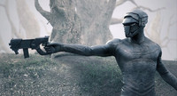 - sci fi soldier animation 3d obj