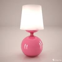 lamp interior 3d max