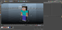 advanced steve rig 3d c4d