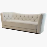 3d model opera contemporary sofa