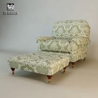 3d max artistic henley armchair