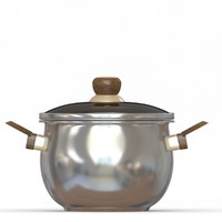 masterchef pot m 3d model