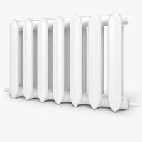 3d modern radiator