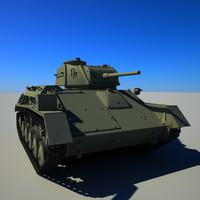 t-80 tank 3d 3ds