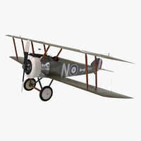 British WWI Biplane Fighter Sopwith F1 Camel