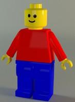 maya lego man