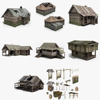 Medieval Village Set 1