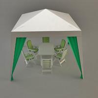 3d pavilion terasa