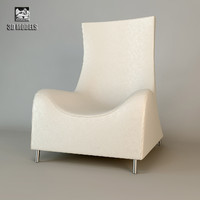 free sede armchair chair 3d model