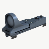 3d c-more reflex sight red model