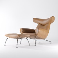 wegner ox chair erik 3d max