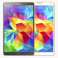 3d model samsung galaxy tab 8